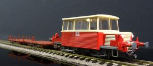 MB-075W  SNCF Track inspection Railcar DU-65 Plus works wagons
